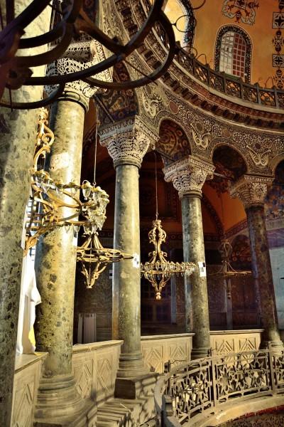 Colunas de Hagia Sophia