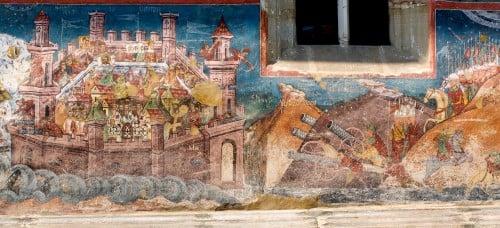 El asedio de Constantinopla
