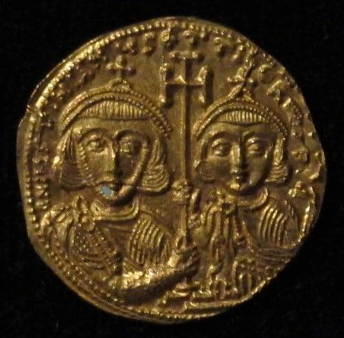 Justiniano II e Tibério