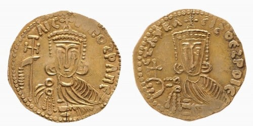 Gold Coin of Nikephoros I