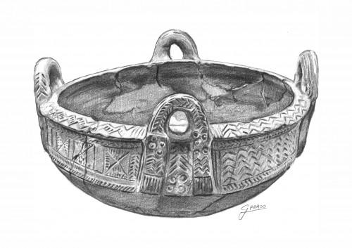 Large Sicilian Bowl (Finocchito Facies, Sicily)