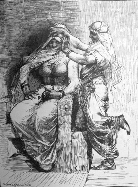 Thor disfrazado de Freyja