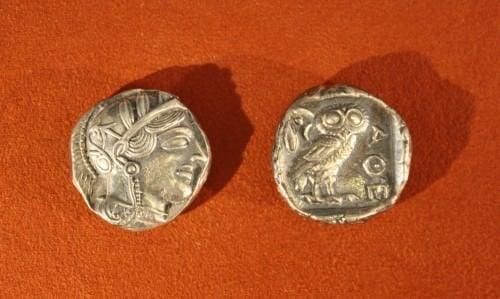 Tetradracma de plata ateniense