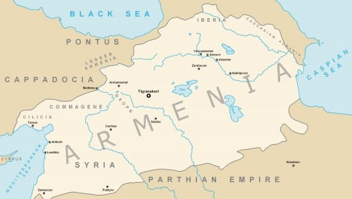 Tigranes the Great's Armenian Empire