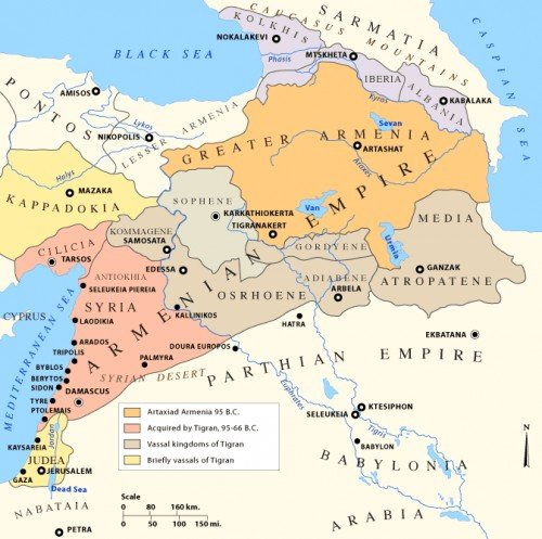 Empire of Tigranes the Great