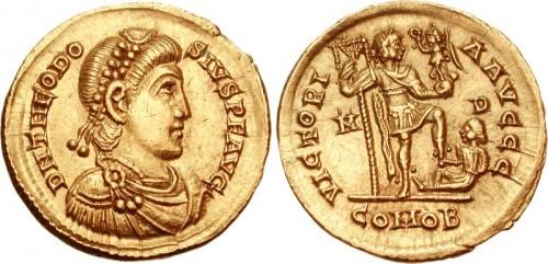Theodosius I Solidus