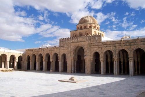 Pátio da mesquita de Kairouan