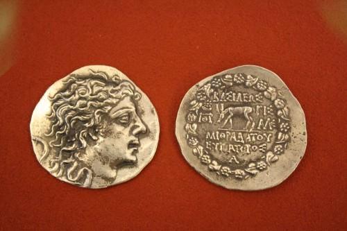 Mithridates Silver Tetradrachm