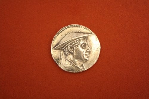 Tetradracma de plata bactriano