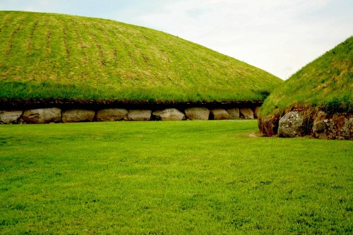Neolithic Mounds at Knowth