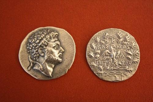 Tetradrachm de prata macedônio