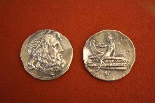 Macedonian Silver Tetradrachm