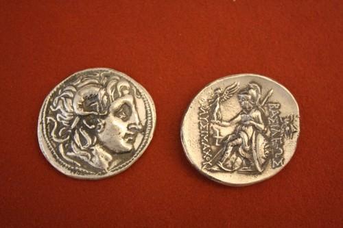 Tetradrachm de prata trácio