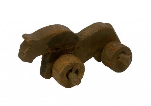 Caballo de juguete bizantino