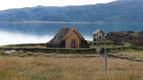 Reconstructed Church at Brattahlíð, Greenland