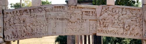 """""""Salva las reliquias del Buda"""", Sanchi"""
