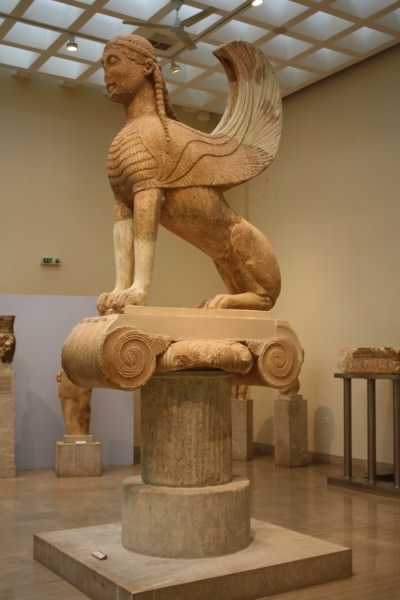 Naxian Sphinx of Delphi