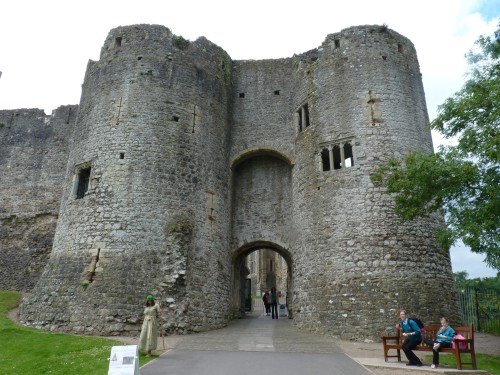 Gatehouse, castillo de Chepstow