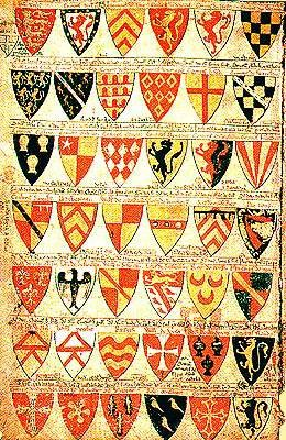 13th Century CE Roll of Arms