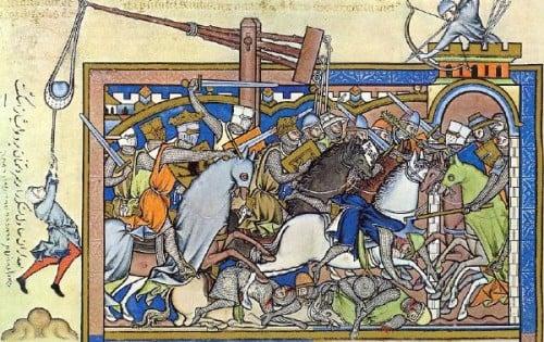 Trebuchet medieval
