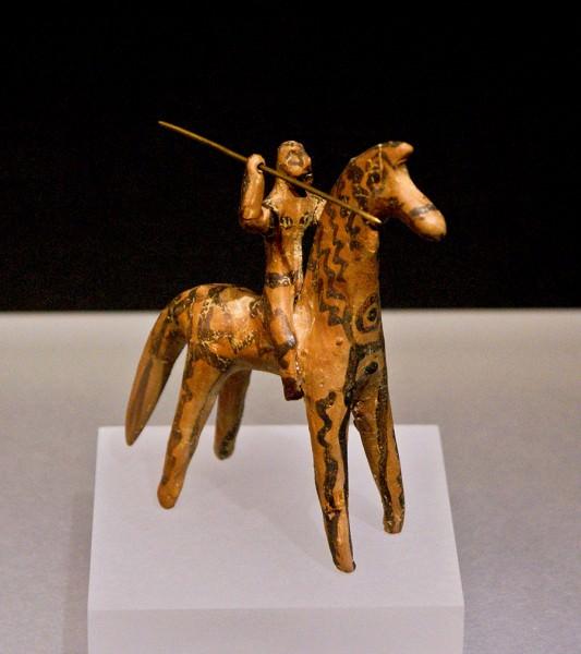 Boeotian Cavalryman Figurine