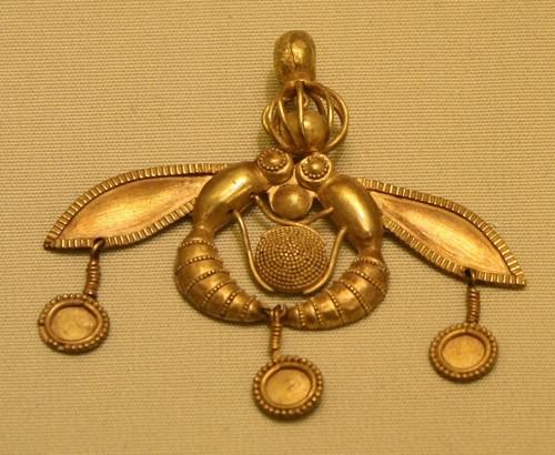 Colgante de abejas Minoan