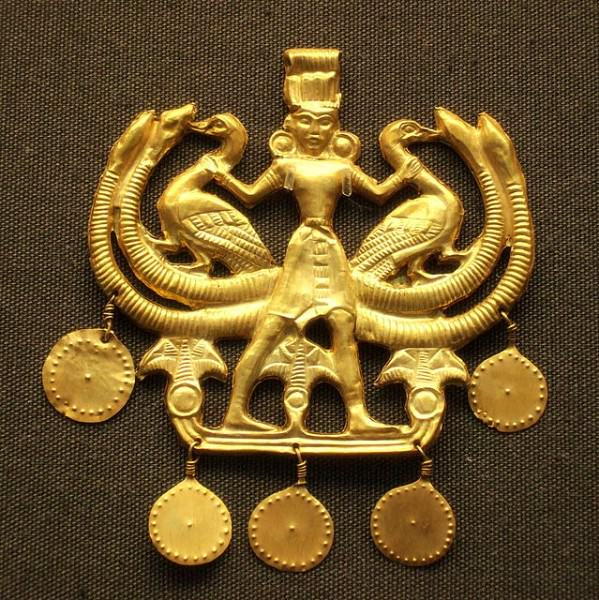 Minoan 'Master of the Animals' Pendant