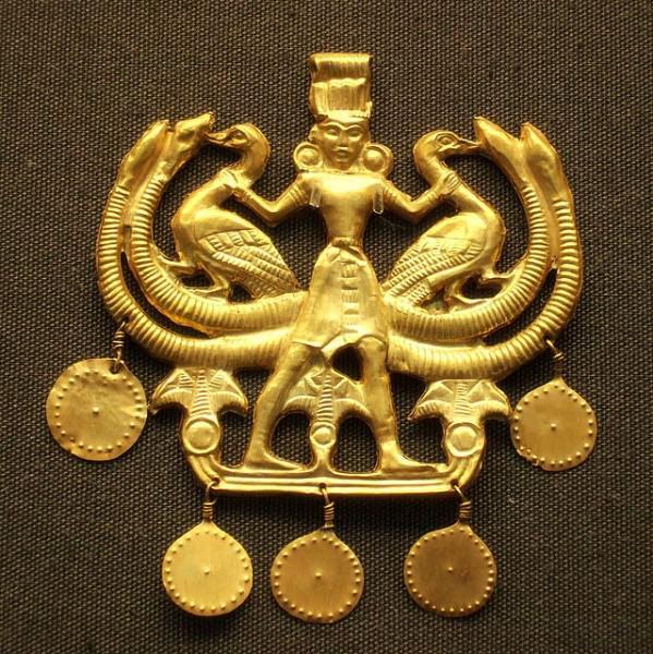 Colgante Minoan 'Maestro de los Animales'