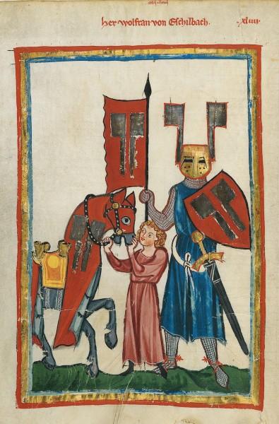 Wolfram von Eschenbach & His Squire