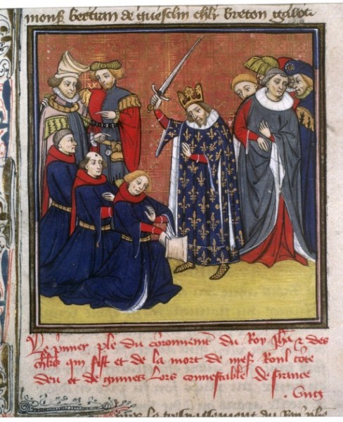 John II Knighting Squires