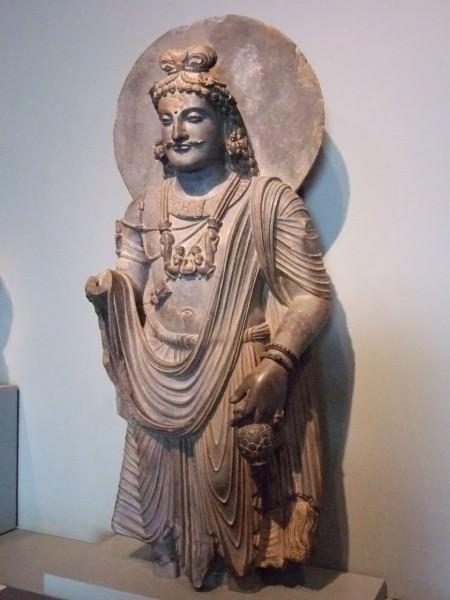 A Bodhisattva, Gandhara