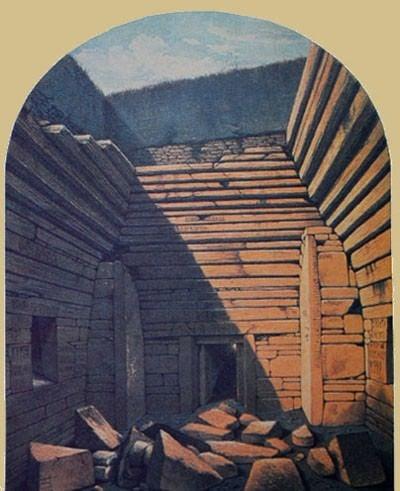 Excavación de Maeshowe 1861
