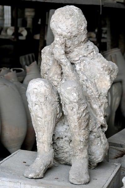 Víctima de Pompeya