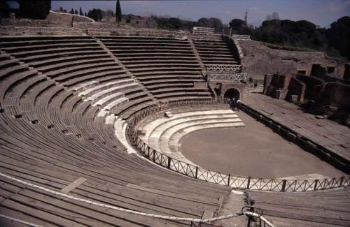 Teatro, Pompeya