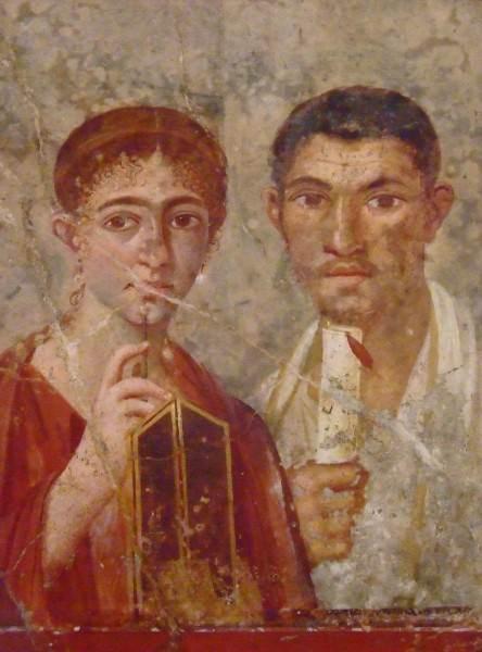 Fresco, Pompeya