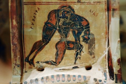 Ajax and Achilles, Francois Vase