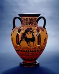 Attic Black-figure Amphora (Trustees of the British Museum)