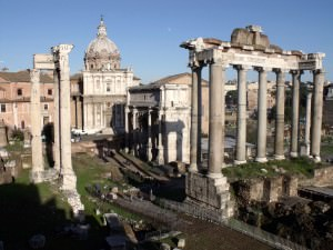 Temple of Saturn, Rome (Elias Rovielo)