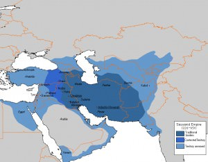 Territorial Expansion of the Sasanian Empire (Dcoetzee)