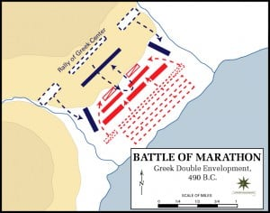 Battle of Marathon, 490 BCE (Dept. of History, US Military Academy)