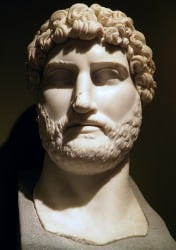 Colossal Marble Head of Hadrian from Sagalassos ()