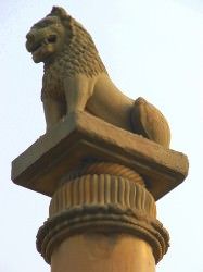 Ashoka's pillar (Undisclosed)