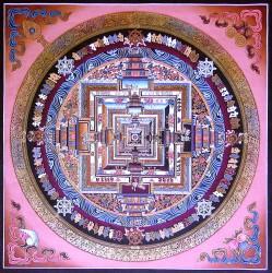 Tibetan Mandala (Kosi Gramatikoff)