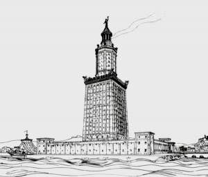 Lighthouse of Alexandria (Prof. H. Thiersch)