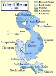 Lake Texcoco (Wikipedia User: Madman2001)