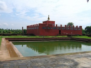 Maya Devi Temple & the Holy Pond (Wes Olson)