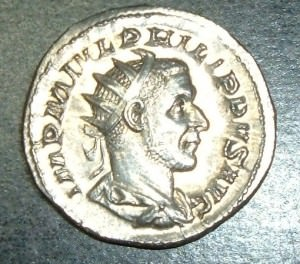Roman Coin of Philip the Arab (Christopher Willis)