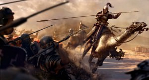 Parthian Camel Cataphracts (The Creative Assembly)