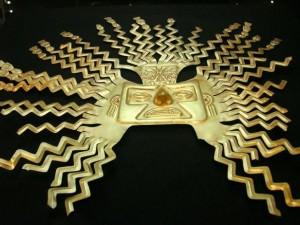 Inca Gold Sun Mask (Andrew Howe)