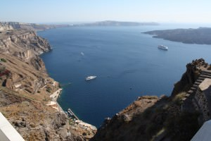 Volcanic Crater of Thera (Santorini) ()